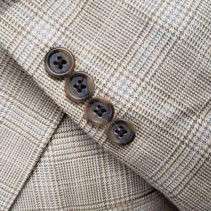 Jos. A. Bank Suits & Blazers - Silk Blend 3 Button Blazer Sport Coat Jacket 48L